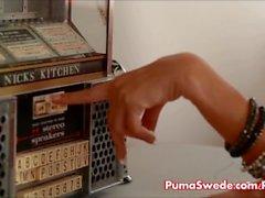 Euro Blonde Puma Schwede will gegessen werden!