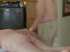 hombres maduros masaje desnudo