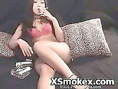 Pervertido fumadores Porno de Kinky puta