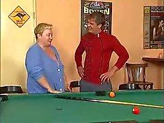 Geiles Vollweiber Großmutter nimmt Dick , die Faust und Fuss