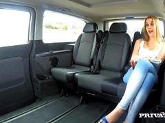 Alexis Crystal fucks her chauffeur