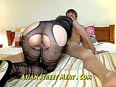 Beauiful Blond Asiatique Pleine Fuck My Ass