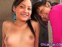 Hot pequeños las latinas atractivo
