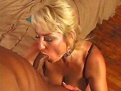 Большой Boobed Анальный секс блядь