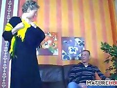 Naughty Granny Wants To Fuck
