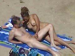 Masturbação na praia