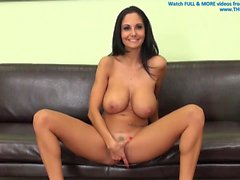 Ava Addams fucks on webcam