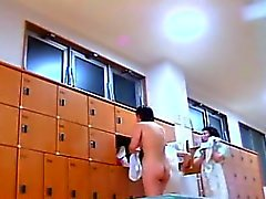 AsianSexPorno com - Hidden camera in locker room