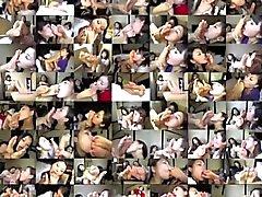 Adoration des pieds de 16 - Les agents de bord chinoises