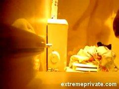 подлый voyeuring свою маму в ванной