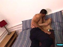 Euro twink sexo anal con corrida