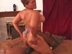 Curvy Long Island pussy and ass ravaged with phat cock