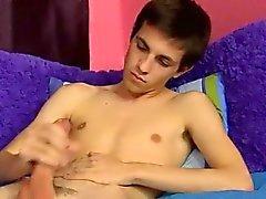 Sexy de gay Conner de Bradley a baissé de studio une ma hâte