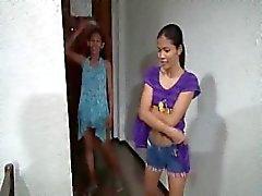 Filipina devient creampied