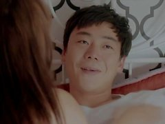 Hot Korean chick fucks with her lover hard and fast