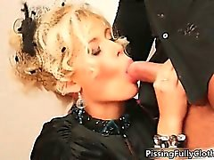 Blonde sluts go crazy sharing an hard part2