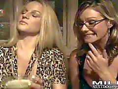 Milfs Kristen Brianna and Melissa get naughty and wet