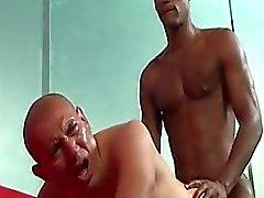 Antonio Moreno ja Billyn Pitkän Interracial Anaaliseksi