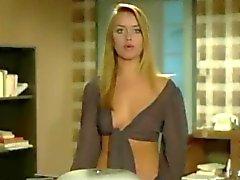 Gloria Guida verführt Szene aus La Studen Film
