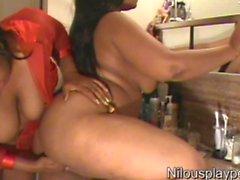 Lesbo Rakkaus # 00GX4 : Nilou Achtland ja Eevalle