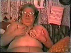 Sehr altes Fett Apfelsorte Granny Spaß . Amateur älteres