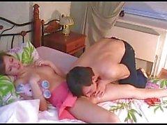 Bruder und Schwester geilen Sex nach dem Unterricht