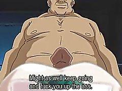Сексуальный Hentai сестра делает минет