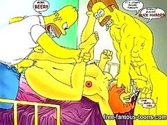 Simpsons Hentai porn Parodie