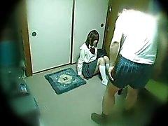 Runaway de video escándalo schoolgirl
