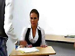 onschuldige babysitter straffen de leraar