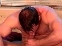 Webcam Muskel Schotten Allein mit Selbst saugen 8.