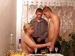Milfs In Hot Threesome Action
