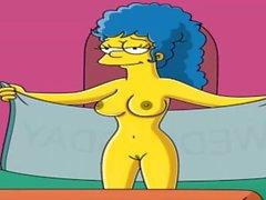 Cartoon Porn Simpsons Spycam, cam