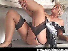 Sexy Saucy Sally Uk Hottest MILF Maid