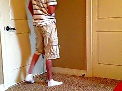 Strip tease ( muchacho adolescente que )