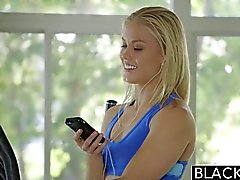 BLACKED Blonde Cheats with Her BBC Trainer