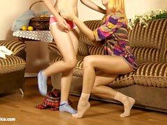 Lesben Sex auf Sapphic Erotica mit Nana Nicole Vice