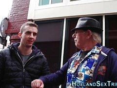 Dutch Prostituierte gefingert