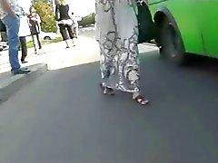 Del upskirt Fisgón A de autobuses de BVR