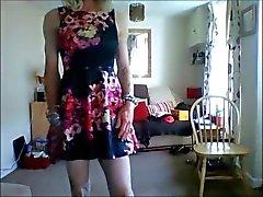 new girly skater dress 1