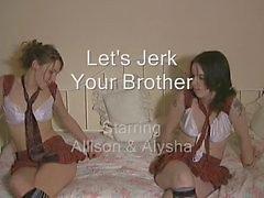 Laat afrukken je vrienden broer