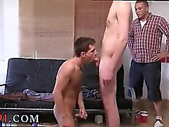 Young brothers suck gay first time This weeks Haze obedience