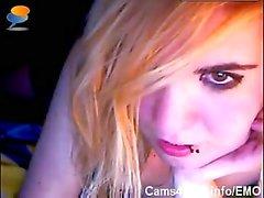 ЕМО Гидромассажная Young Teen Goth девочка с Dildo на вебкамеру !