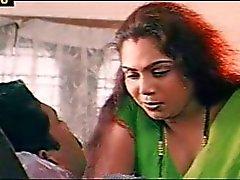 Mallu Sindhu romatic kohtauksia