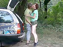 Sex на природе - Creampie ( любительских Несколько )