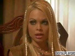 Классический Пираты 2: Джесси Джейн и Белладонна в горячем шероховатом лесбийском сексе