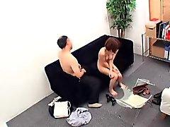 Sexy schlanke Oriental Babe hat ein schmutziger alter Mann fucking ihr