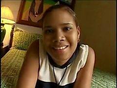 De Colombia Ebony Teen - Primera escena