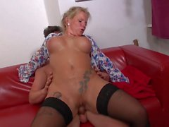 Real mature mothers get hard sex with sons