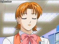 Ve Anime sekreterin kedi takıldı gets